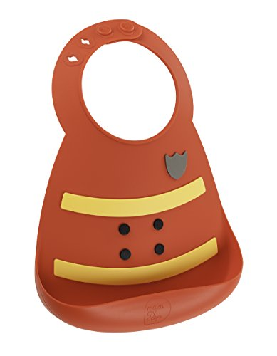 icone Baby Bib Red Fireman ()
