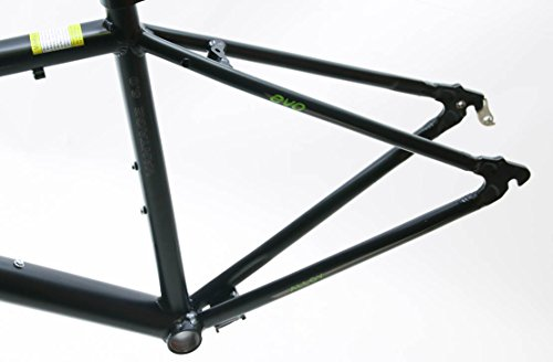 EVO Vantage 5.0 50cm Small Aluminum Road Bike Frameset Fork + Extras Black NEW