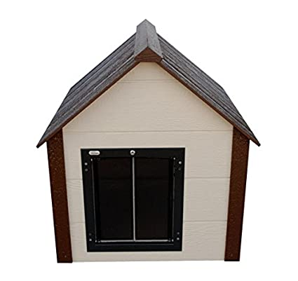 Climate Master Plus Insulated Dog House W Door Large