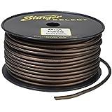 Stinger SSVLP8BK 8Ga Matte Black Power Wire 250'