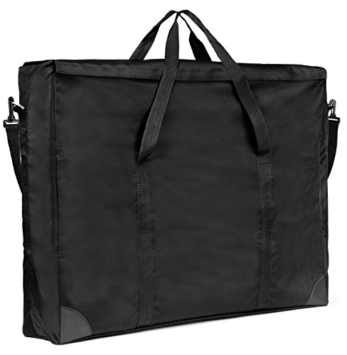 Rex Art Adapt Wide Gusset Softside Portfolio - Color: Black - Size: - 23'' x 31'' x 6'' by Rex Art