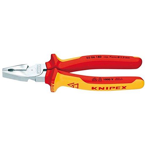 生活日用品 DIYグッズ工具 0206-225 強力絶縁ペンチ 1000V B075449G24