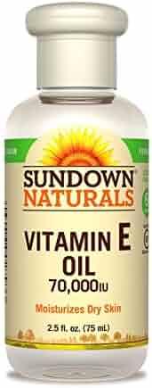 Sundown Naturals Vitamin E Oil 70000 IU, 2.5 Fluid Ounce