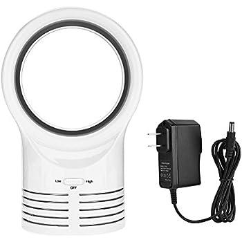 Amazon Com Yosoo Mini Usb Tower Fan Cools Bladeless Air
