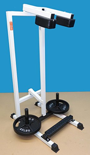 TDS 1000 rated Standing Calf Unit with Non Slippery Foot Plate & Extra Heavy Shoulder Padding by TDS