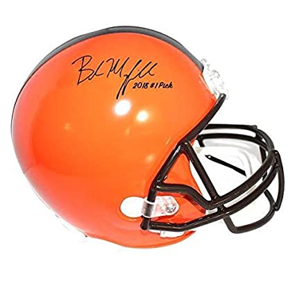 fa6cb298 Amazon.com: Baker Mayfield Autographed Signed Cleveland Browns ...