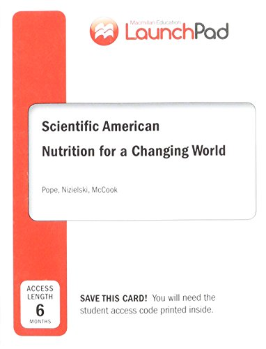 Nutrition For A Changing World Access