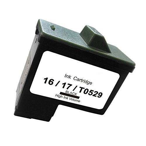AmsahrT0529-1CTDell T0529, A920 Dell Remanufactured Replacement Ink Cartridges - Includes ONE BLACK Cartridges