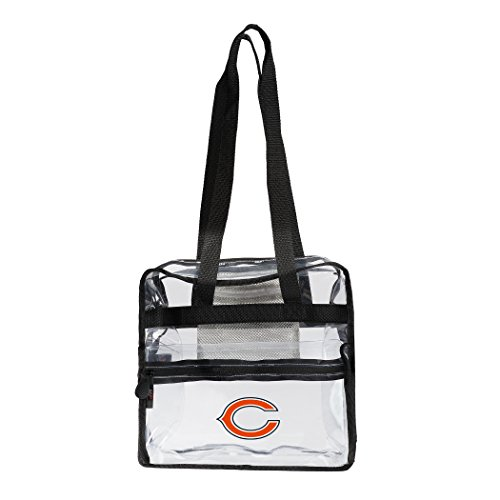The Northwest Company NFL Chicago Bears Zone Stadium Friendly Tote Clear Zone Stadium Friendly Tote, Clear, One Size Chicago Bears Nfl Stadium