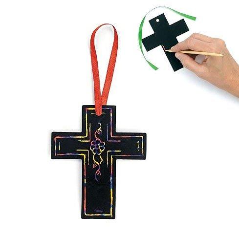 Magic Color Scratch Cross (Magic Color Scratch Cross Ornaments (2 dz))