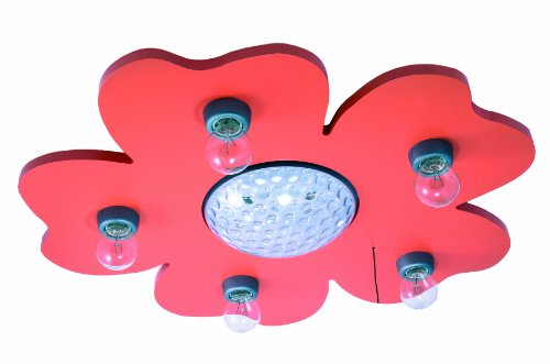 Niermann Standby LED Ceiling Happy Flower Lamp, Orange by Niermann Standby