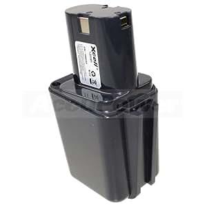 AccuPower - Batería para Bosch 2607300002 9.6V P211CH