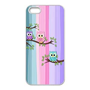 Owl you need is LOVE Inkjet Printing Printed Phone Plastic Hard Shell Case Cover For Apple Iphone 5 5S Cases TKOK757756