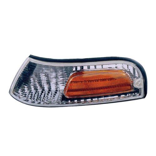 Driver Side Park Lamp - 1998-2011 Ford Crown Victoria Corner Park Light (excluding police package) Turn Signal Marker Lamp Left Driver Side (2011 11 2010 10 2009 09 2008 08 2007 07 2006 06 2005 05 2004 04 2003 03 2002 02 2001 01 2000 00 1999 99 1998 98)