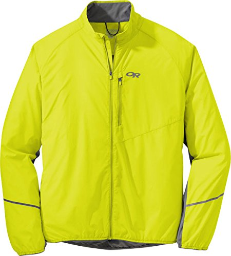 Outdoor Research Men's Boost Jacket, Jolt/Pewter, Medium