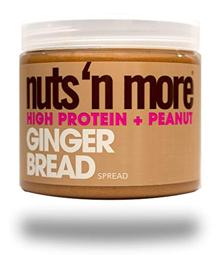 Nuts N More Birthday Cake Peanut Spread High Protein Nut Butter