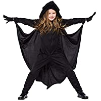 ABDQPC Kids Black Bat Funny Party Birthday Cosplay Costume Fancy Dress Up S