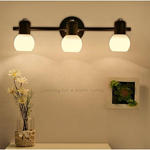 Amerikanischen LED-Spiegel Licht Badezimmerspiegel retro ...