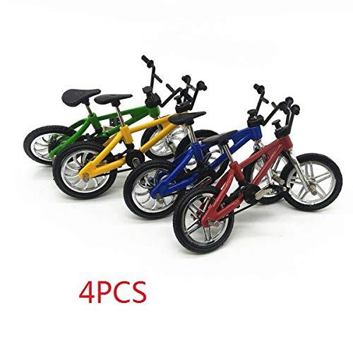[해외]Hockus Accessories 4PCS Mini Simulation Climb Bike Assembled Alloy Bicycle Model Kids Toy Desktop Ornaments RC Car Decor Parts / Hockus Accessories 4PCS Mini Simulation Climb Bike Assembled Alloy Bicycle Model Kids Toy Desktop Orna...