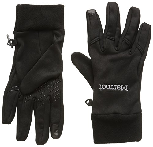 [Marmot Mountain Llc Marmot Connect Gloves 1 Pair X-Large Black X-Large] (Marmot Mens Work Gloves)