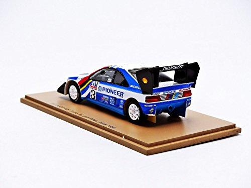 Amazon.com: Spark 1:43 Peugeot 405 #3 Pikes Peak 88 J. Kankune: Toys & Games