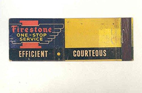 1940-1950s Firestone Matchbook Cover (Firestone Cover)