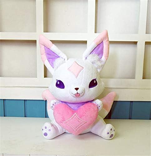 Yuzhijie Star Guardian Ahri Little Cute Fox Kiko Mascot Anime Stuffed & Plush Cartoon Doll 33cm