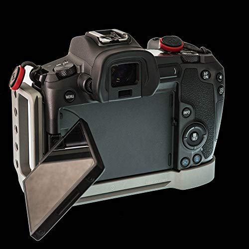 Stabil LCR : L Plates (Bracket) for Canon EOS-R Camera : Army Version
