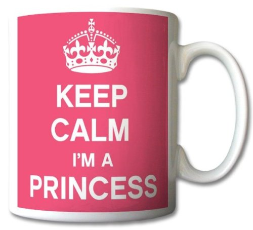 Keep Calm I'm A Princess Mug Cup Gift Retro