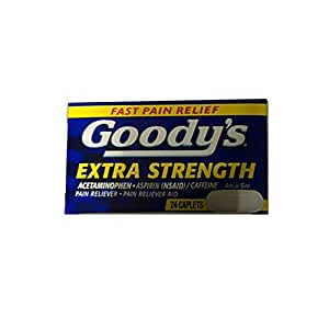 Goody's Extra Strength Fast Pain Relief, 24 Caplets