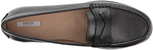 Elidia 5 Slip-on Loafer Gun / Anthracite Van Geox-dames