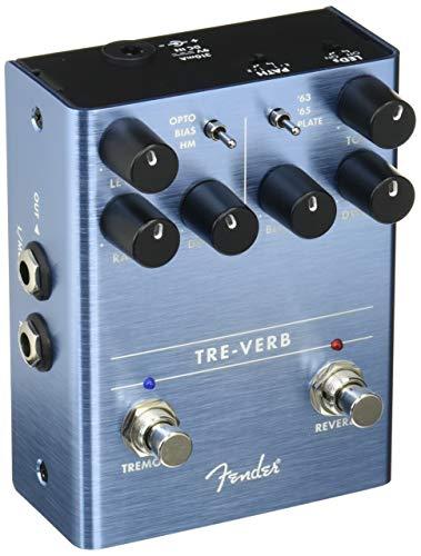 - Fender Tre-Verb Tremolo/Reverb Pedal