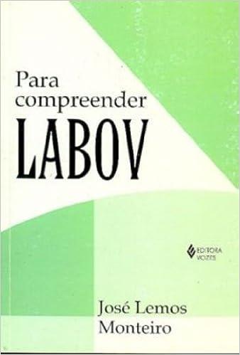 livro para compreender labov