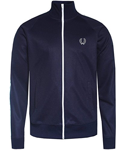 Perry Da Carbone Nastro Blu Fred Laurel Track Jacket FTqFwda