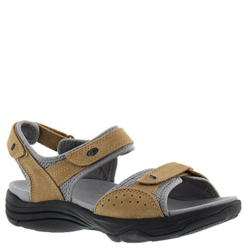 - CLARKS Women's Wave Grip Quarter Strap Sandal,Smokey Brown Pig Nubuck,US 9 W