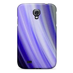 Tpu Case For Galaxy S4 With Purple Abstract
