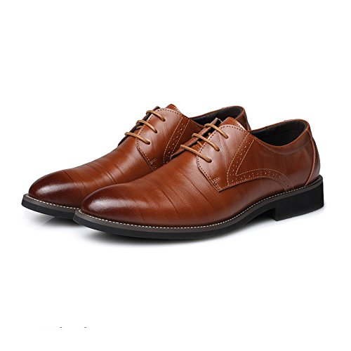 Marrone Brown Scarpe uomo 44 Shoes stringate EU XHD PRaIWpqA