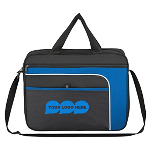 Ventura Messenger Bag - 100 Quantity - $7.89 Each - PROMOTIONAL PRODUCT / BULK / BRANDED with YOUR LOGO / CUSTOMIZED by CloseoutPromo