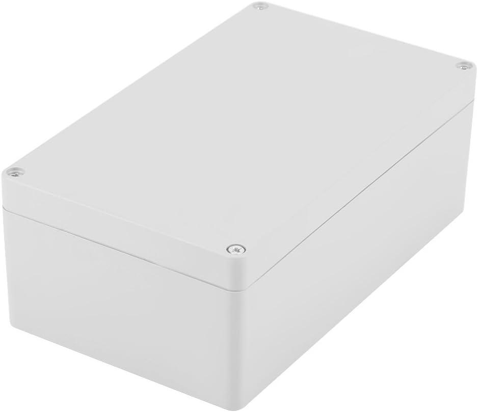 Caja de Conexiones Resistente Al Agua Caja de Ip65 Abs Proyecto Eléctrico Universal Caja de Instrumentos Montaje Fijo(200 * 120 * 75mm)