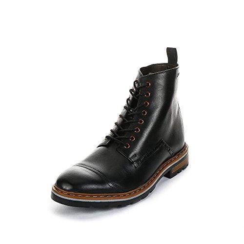 Clarks Dargo Rise, Herren Kurzschaft Stiefel Schwarz (Black Leather)