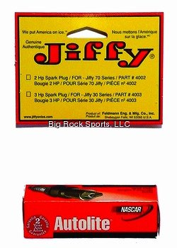 Spark Plugs Horsepower (Jiffy 4002 Spark Plug for 2-Horsepower Tecumseh Engines)