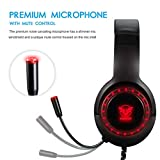 Pacrate Gaming Headset for PS4 Xbox One PC with