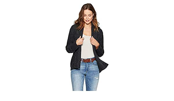 Knox Rose Women's Long Sleeve Cable Knit Shawl Cardigan