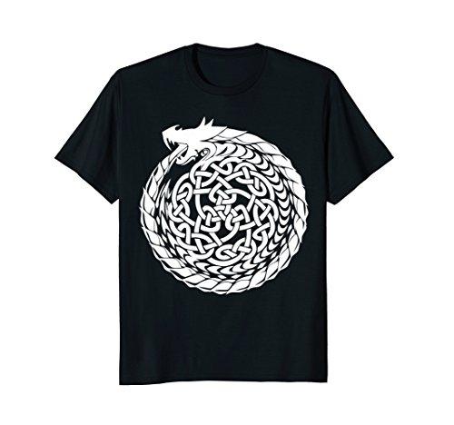 Medium Celtic Circle - Celtic T-Shirt Irish Dragon Knot Circle Ireland St. Paddy's