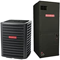 4 Ton 16 Seer Goodman Air Conditioning System DSXC180481 - AVPTC59C14
