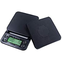 Caffeinehouse777 – Digital Coffee Scale with Timer- Baking Table Weighting V60 Drip Coffee Mini Digital Electronic…
