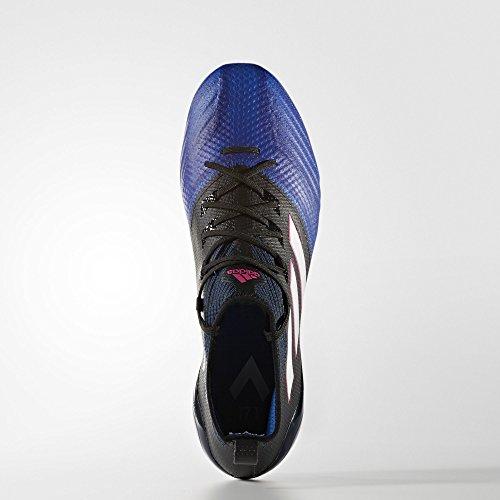 adidas Ace 17.1 Primeknit, para los Zapatos de Entrenamiento de Fútbol para Hombre Negro (Nero Negbas/ftwbla/azul)