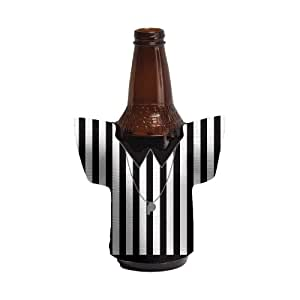 Creative Converting Sports Fanatic Referee Jersey Shaped Drink Holder