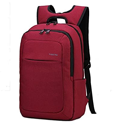 Amazon.com : 2016 New Designed Mens Backpacks Bolsa Mochila for Laptop 14 Inch 15 Inch Notebook Computer Bags Men Backpack School Rucksack#Red : Everything ...