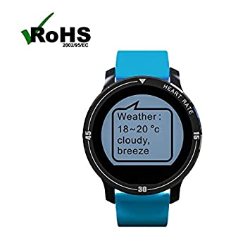 Montre de Sport Montre Running Montre Connectee Sport Fitness Smart Watch, avec Alarmes/Notification